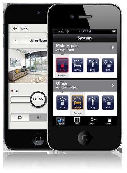 aplicaciones móvil para sistemas de seguridad